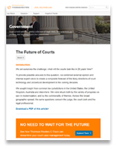 The Future of Courts