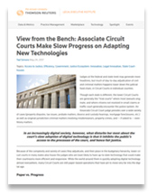 View from the Bench: Associate Circuit