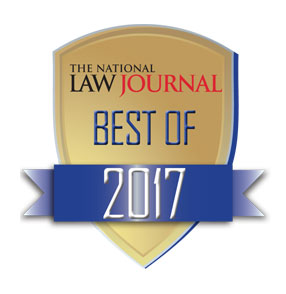 2017 Best Of - The NLJ award icon