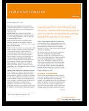 Healthcare Fraud 101 - PDF