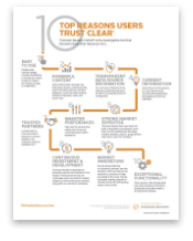 Top 10 reasons users trust CLEAR - PDF