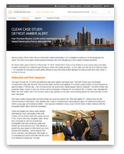 Case Study: Detroit Police Department