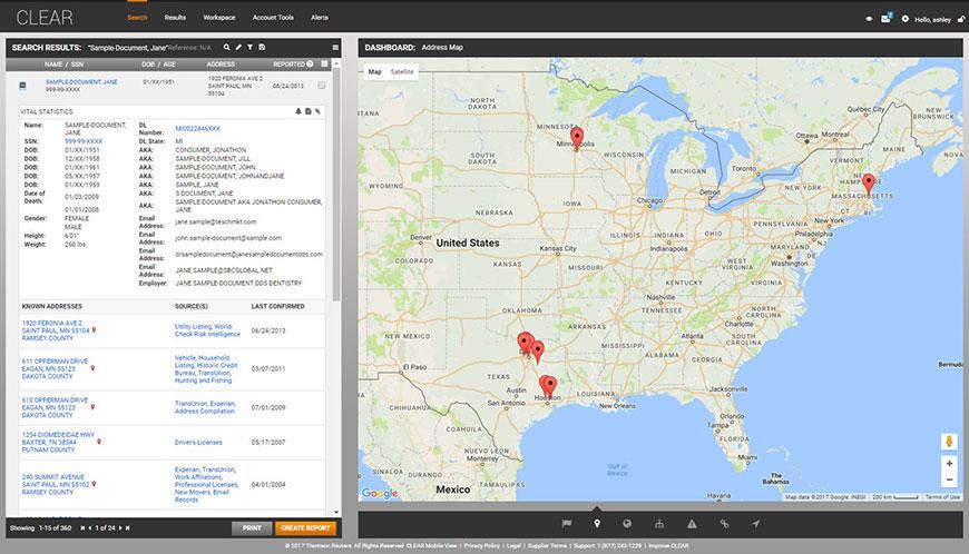 Map Analytics