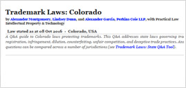 Trademark Law: Colorado