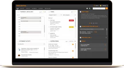 Firm Central screenshot