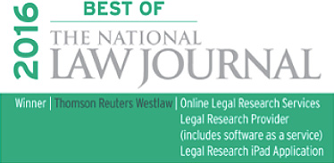 2016 Best of The National Law Journal