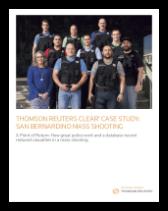 CLEAR helps the San Bernardino Police Department neutralize a mass shooter