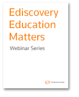 Ediscovery Best Practices and Industry Trends