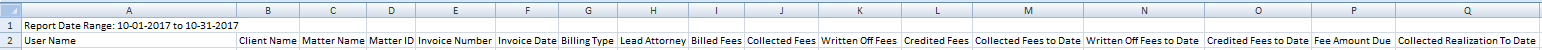Collection Realization by User: