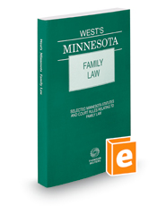 West's® Minnesota Family Law, 2018 ed.