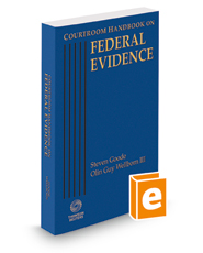 Courtroom Handbook on Federal Evidence, 2015 ed.