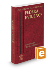 Courtroom Handbook on Federal Evidence, 2020 ed.