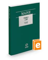 Maine Family Law, 2018 ed.