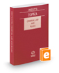 West's Iowa Criminal Law and Rules, 2020 ed.