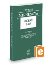 West's Minnesota Probate Law, 2017 ed.