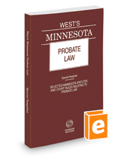 West's Minnesota Probate Law, 2018 ed.