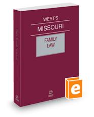West's® Missouri Family Law, 2021 ed.