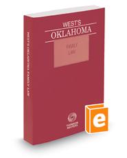 West's® Oklahoma Family Law, 2016 ed.
