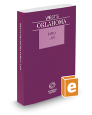 West's® Oklahoma Family Law, 2017 ed.
