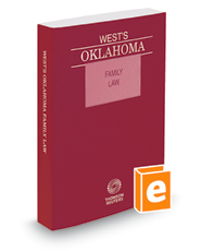 West's® Oklahoma Family Law, 2018 ed.