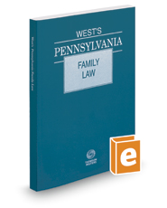 West's Pennsylvania Family Law, 2016 ed.