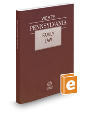 West's Pennsylvania Family Law, 2017 ed.