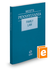 West's Pennsylvania Family Law, 2018 ed.