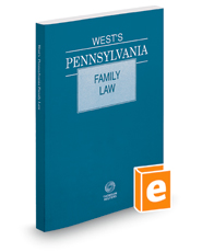 West's Pennsylvania Family Law, 2020 ed.
