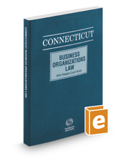 Connecticut Business Organizations Law, 2016 ed.
