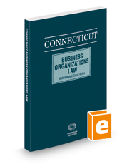 Connecticut Business Organizations Law, 2020 ed.