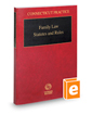 Family Law Statutes and Rules, 2016 ed. (Connecticut Practice Series)