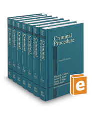 Criminal Procedure, 4th (West's Criminal Practice Series)