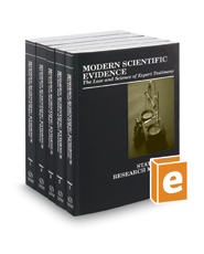 Modern Scientific Evidence: The Law and Science of Expert Testimony, 2018-2019 ed.