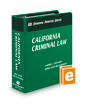 California Criminal Law (The Rutter Group Criminal Practice Series)