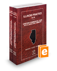 Uniform Commercial Code with Illinois Code Comments, 2018 ed. (Vol. 2A and 2B, Illinois Practice Series)