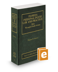 Florida Personal Injury Law and Practice, 2016-2017 ed. (Vol. 6, Florida Practice Series)