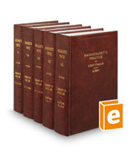 Summary of Basic Law, 5th (Vols. 14-14E, Massachusetts Practice Series)