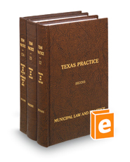 Municipal Law and Practice, 2d (Vols. 22-23A, Texas Practice Series)