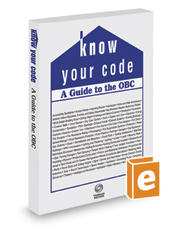 Know Your Code: A Guide to the OBC, 2020 ed.