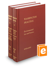Environmental Law and Practice, 2d (Vols. 23 and 24, Washington Practice Series)