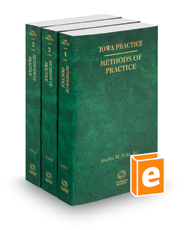 Methods of Practice, 2018 ed. (Vols. 1-3, Iowa Practice Series)
