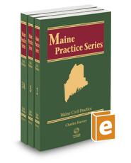 Civil Practice, 3d, 2017-2018 ed. (Vols. 2-3A, Maine Practice Series)