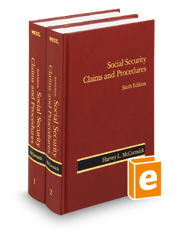 Social Security Claims and Procedures, 6th