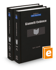 Evidence, 4th (Baldwin's Ohio Practice)