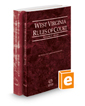 West Virginia Rules of Court - State and Federal, 2019 ed. (Vols. I & II, West Virginia Court Rules)