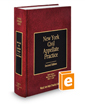 New York Civil Appellate Practice, 2d (Vol. 8, New York Practice Series)