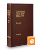 Tort Law, 2d (Vol. 12, Louisiana Civil Law Treatise Series)