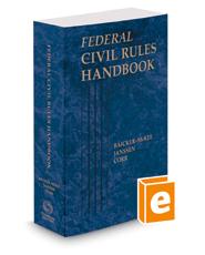 Federal Civil Rules Handbook, 2019 ed.