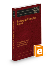 Bankruptcy Exemption Manual, 2021 ed. (West's® Bankruptcy Series)