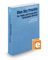 Blue Sky Practice For Public and Private Direct Participation Offerings, 2016-2017 ed. (Securities Law Handbook Series)